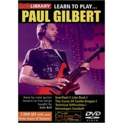 Roadrock International Learn to play Paul Gilbert