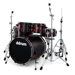 DDrum Hybrid Kit Satin Black Set