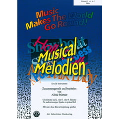 Siebenhüner Musikverlag Musical Melodien Flute
