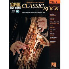 Hal Leonard Sax Play-Along Classic Rock