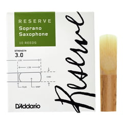 DAddario Woodwinds Reserve Soprano Saxophone 3,0