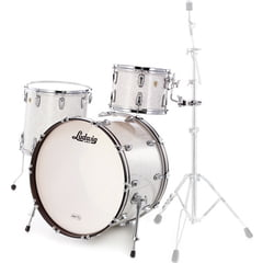 Ludwig Classic Maple Rock White Mar.