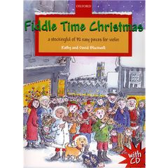 Oxford University Press Fiddle Time Christmas +CD