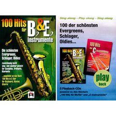 Musikverlag Hildner 100 Hits for Bb & Eb Vol.1 Set