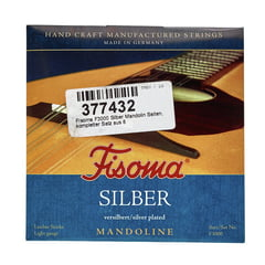 Fisoma F3000 Silver Mandolin Strings