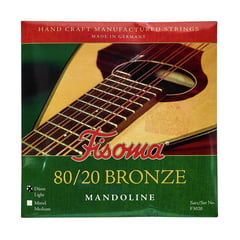 Fisoma F3020D Mandolin Strings 80/20