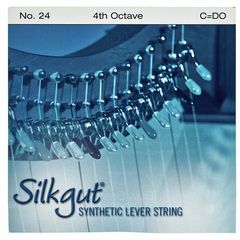 Bow Brand Silkgut 4th C Harp Str. No.24