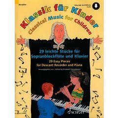 Schott Klassik für Kinder Recorder