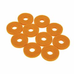Colour Your Drum Cymbal Felts Yellow