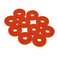 Colour Your Drum Cymbal Felts Orange