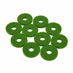 Colour Your Drum Cymbal Felts Green