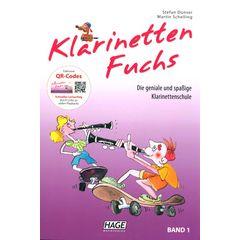 Hage Musikverlag Klarinetten Fuchs Vol.1