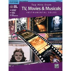 Alfred Music Publishing Top Hits from TV T-Sax