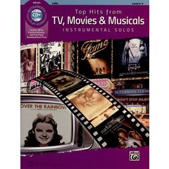 Alfred Music Publishing Top Hits from TV Cello
