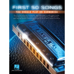 Hal Leonard First 50 Songs Play Harmonica