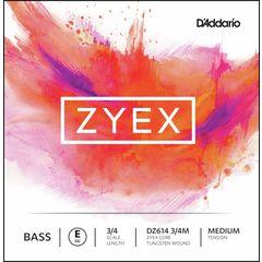 Daddario DZ614-3/4M Zyex Bass E med.