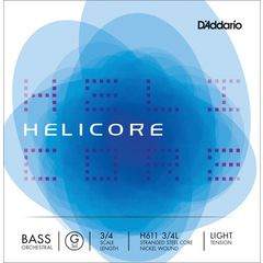 Daddario H611-3/4L Helicore Bass G L