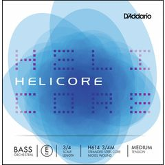 Daddario H614-3/4M Helicore Bass E Med.