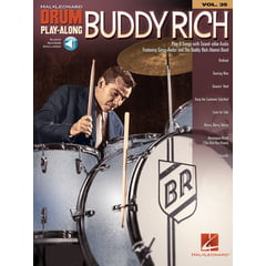Hal Leonard Drum Play-Along Buddy Rich