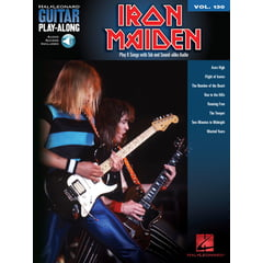 Hal Leonard Guitar Play-Along Iron Maiden