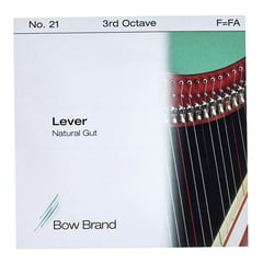 Bow Brand NG 3rd F Gut Harp String No.21