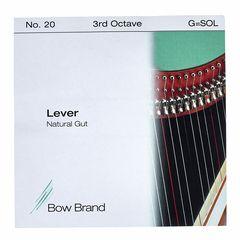 Bow Brand NG 3rd G Gut Harp String No.20