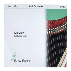 Bow Brand NG 3rd B Gut Harp String No.18