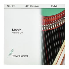 Bow Brand NG 4th E Gut Harp String No.22