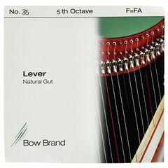 Bow Brand NG 5th F Gut Harp String No.35