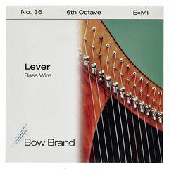 Bow Brand BW 6th E Harp Bass Wire No.36