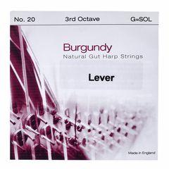 Bow Brand Burgundy 3rd G Gut Str. No.20