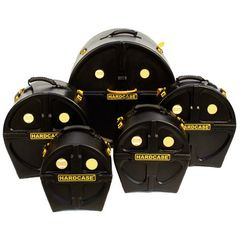 Hardcase Drum Case Set HRockFus5