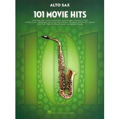 Hal Leonard 101 Movie Hits for Alto Sax.