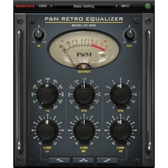 Plug And Mix Retro Equalizer