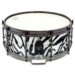 "Colour Your Drum 14""x5,5"" Steel Snare Zebra"