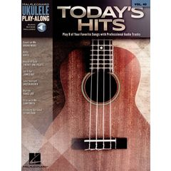 Hal Leonard Ukulele Play-Along Today Hits