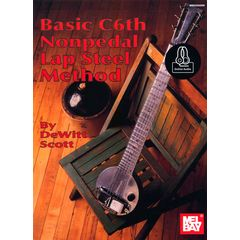 Mel Bay Basic C6th Nonpedal Lap Steel