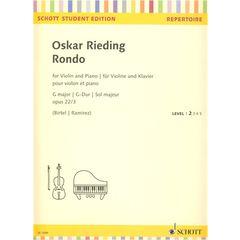 Schott Rieding Rondo op.22/3