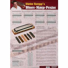 Voggenreiter Poster Kropp Blues Harp