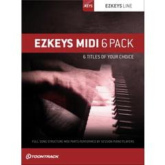 Toontrack EZkeys Midi 6 Pack