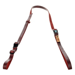 Uke Leash Half Leather Strap BR L