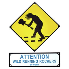 Millenium Rockers Sign