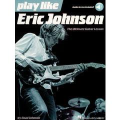 Hal Leonard Play Like Eric Johnson