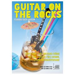 Acoustic Music Guitar on the Rocks