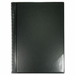 ge-gra-Muster Music Folder A4/15 Black