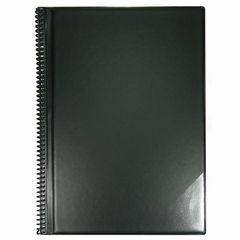 ge-gra-Muster Music Folder A4/20 Black