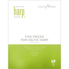 Edition Dux Five Pieces For Celtic Harp 1