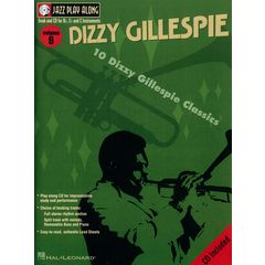 Hal Leonard Jazz PlayAlong Dizzy Gillespie