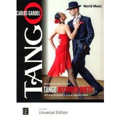 Universal Edition Tango Recorder Duets