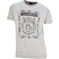 Orange T-Shirt Crest Grey XL